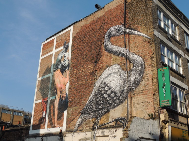 Brick Lane street art