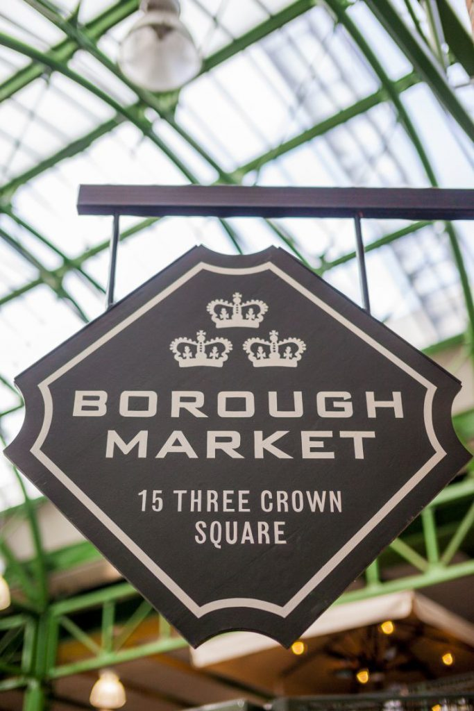 Borough Market Three crown square