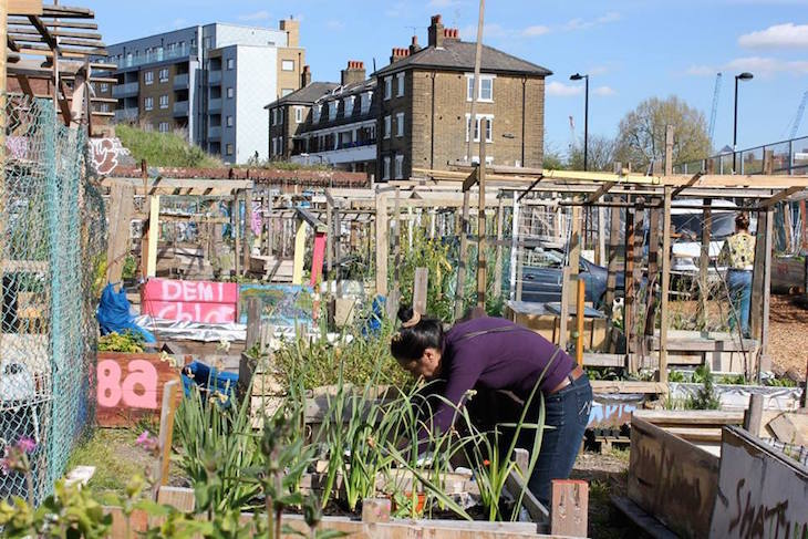 Shoreditch Nomadic Community Garden